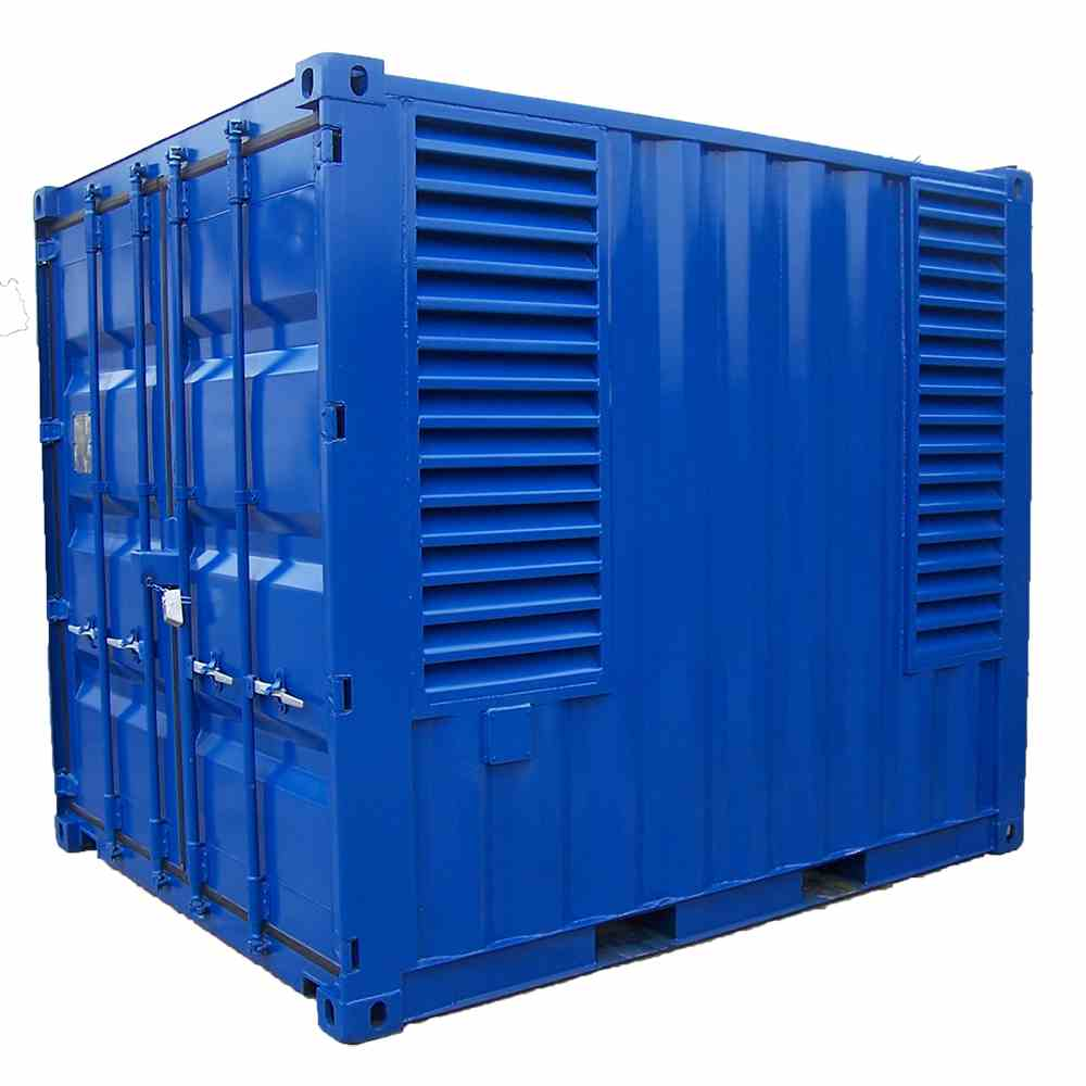 Blue Power Electrics acoustic container for generator